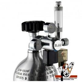 Botella CO2 + manoreductor grande. (0.82 L)