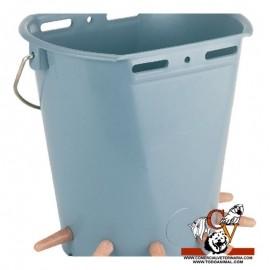 Cubo teton corderos 6 salidas 8 litros
