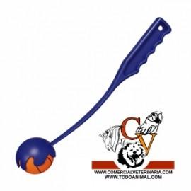Catapulta lanzadora con pelota