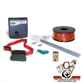 Limitador de zona exterior con cable para perros difíciles