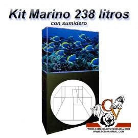 Kit Marino Completo 238 Litros con sumidero
