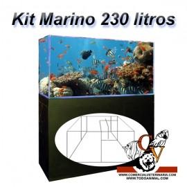 Kit Marino Completo 230 Litros con sumidero