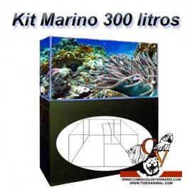 Kit Marino Completo 300 Litros con sumidero