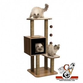 Mueble Rascador para Gatos V-High Base Vesper